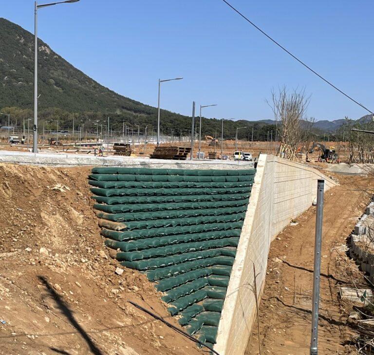완주 테크노밸리 지원지구 도로 날개벽 (2)